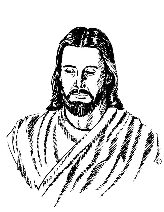 Jesus Christ On The Cross .