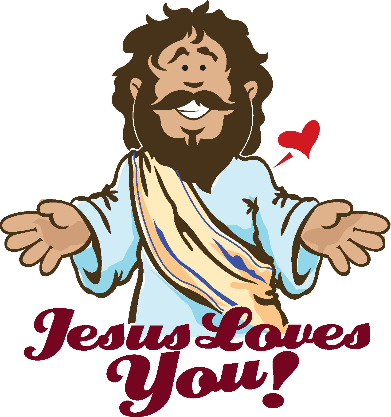 Jesus love clipart free clipart images 3