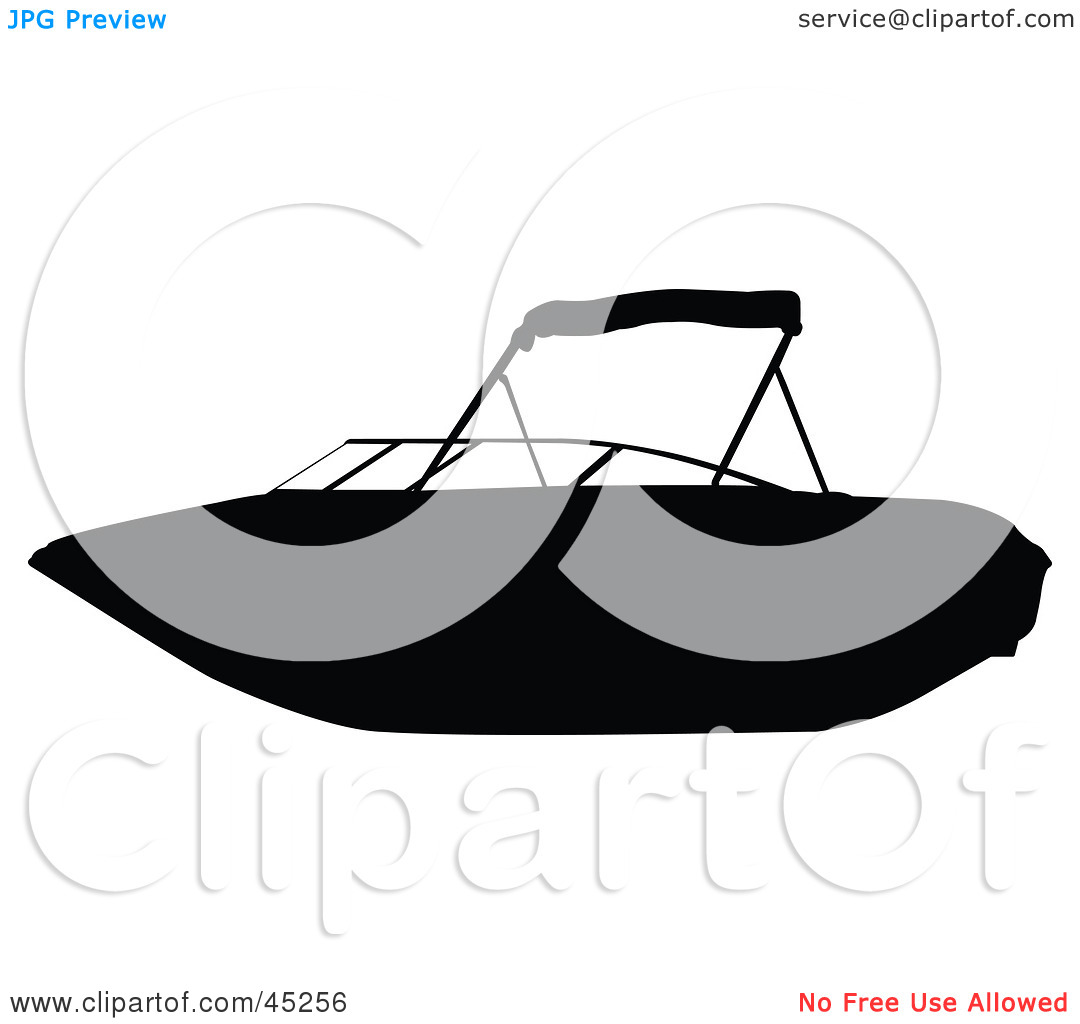 Jet Boat Rf Clipart #1