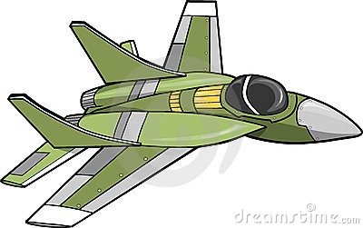 Jet Fighter Vector - Jet Clip Art