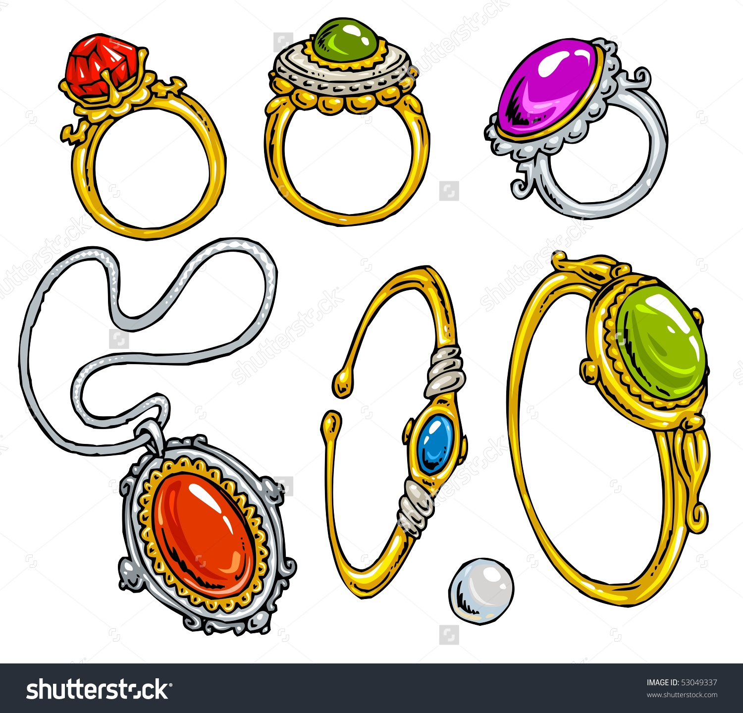 Jewelry clipart - ClipartFest