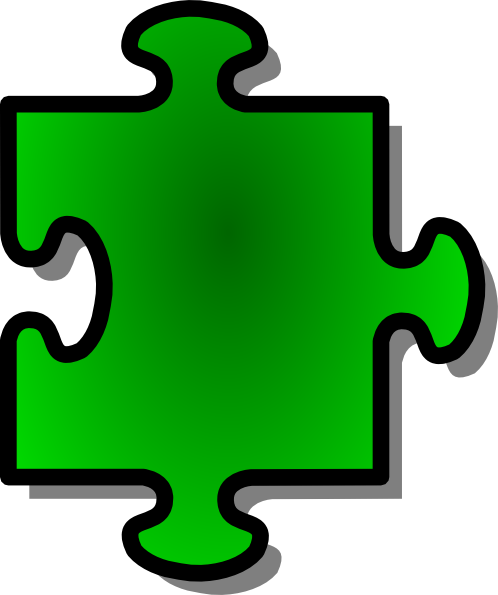 Jigsaw Green Puzzle Piece Clip Art At Cl-Jigsaw Green Puzzle Piece Clip Art At Clker Com Vector Clip Art-8