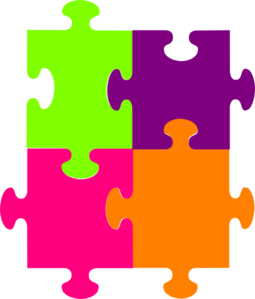 Jigsaw Puzzle 4 Pieces Clip .-Jigsaw Puzzle 4 Pieces clip .-4