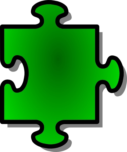 Jigsaw Red Puzzle Piece Clip Art-Jigsaw Red Puzzle Piece clip art-14