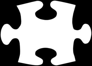 Jigsaw White Puzzle Piece Large Clip Art-Jigsaw White Puzzle Piece Large Clip Art At Clker Com Vector Clip-6