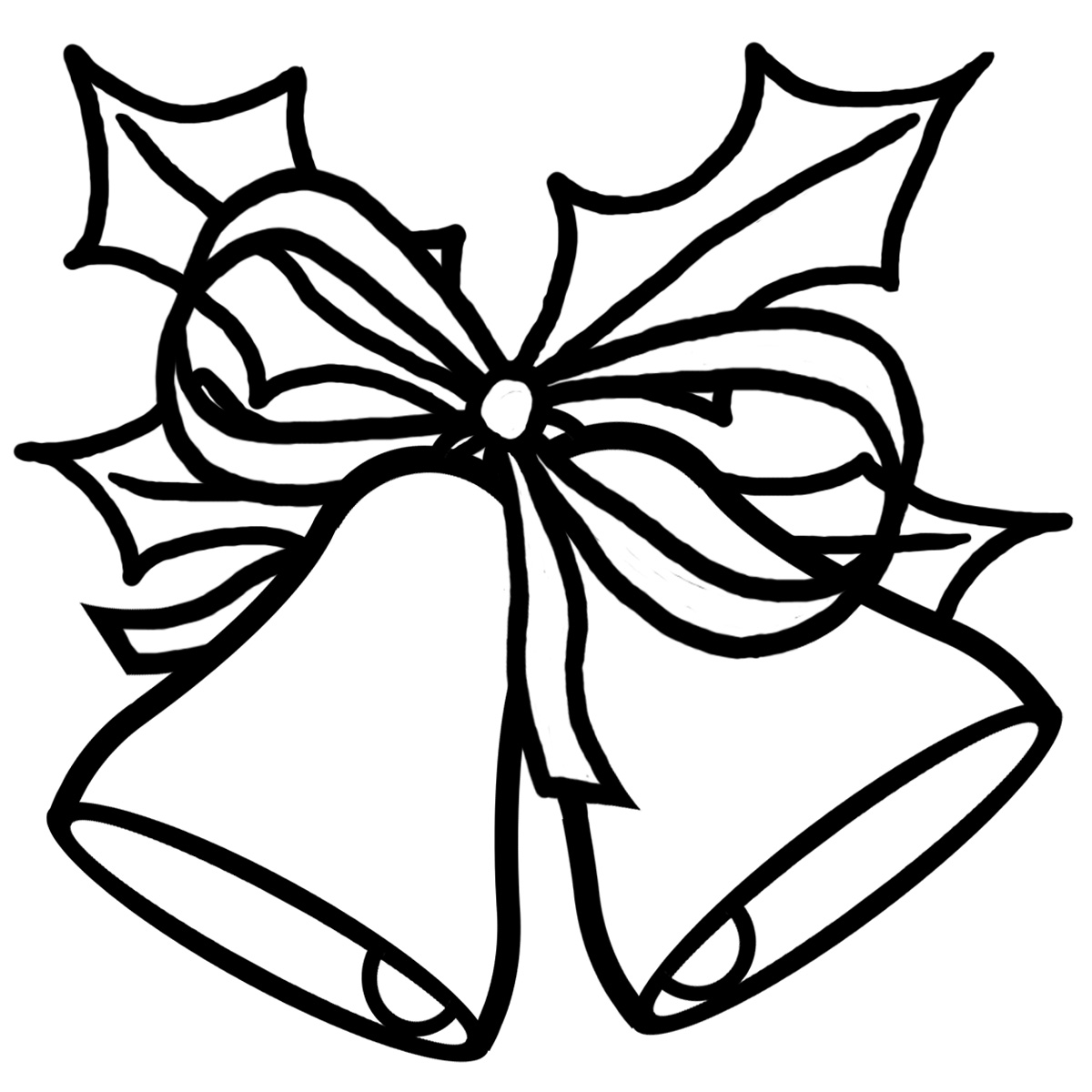 ... Jingle Bells Black And White Clipart ...
