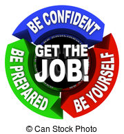 Job Clipartby coraMax9/315; Get the Job - Arrows Diagram - A series of motivational.