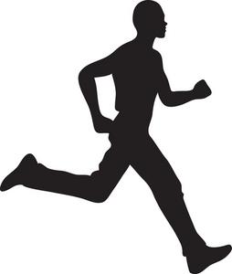 Jogger Clipart Image Man Running Silhoue-Jogger Clipart Image Man Running Silhouette-14