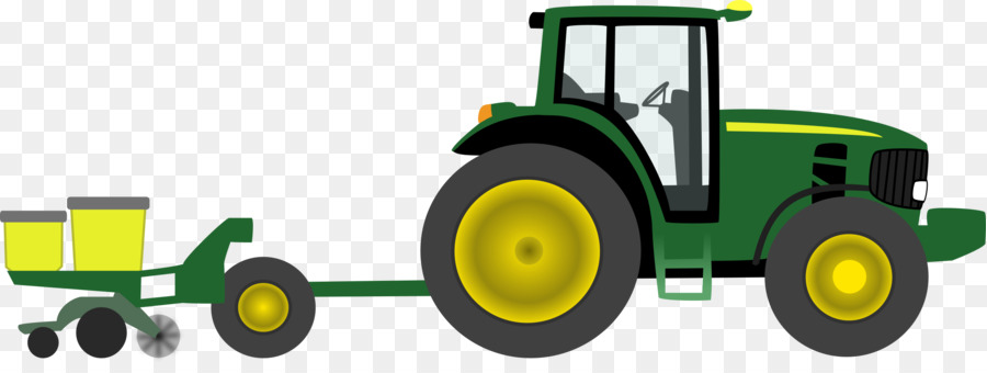 John Deere Tractor pulling Agriculture Clip art - Animated Cliparts Tractor