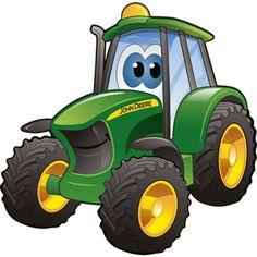 traktor john deere clipart 7