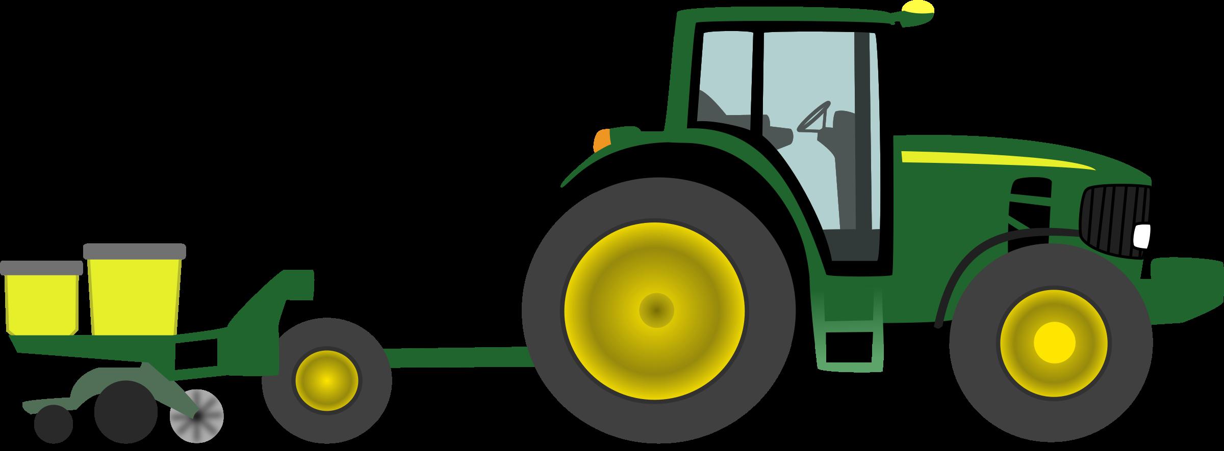 ... John Deere Tractor Clip Art - clipartall ...