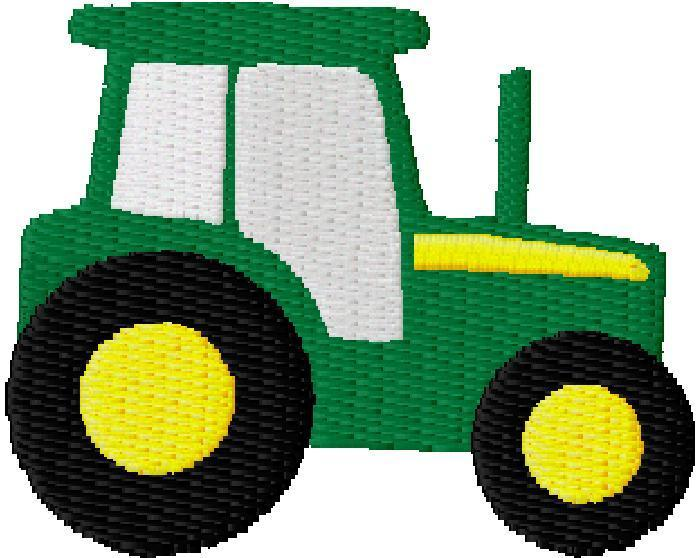 John Deere Tractors Cartoon .