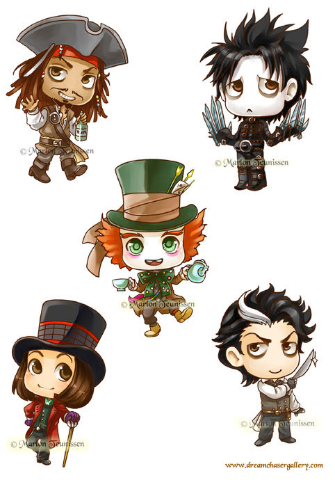 Johnny Depp Clipart-Clipartlook.com-482