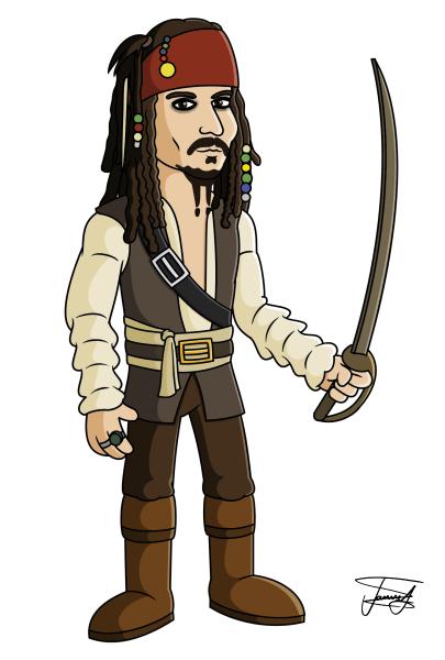 Captain-Jack-Sparrow-Cartoon-Caricature-Captain-Jack-Sparrow-Cartoon-Caricature-9