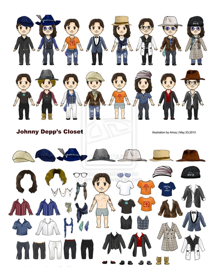 I love his dressing style. and here is a flash game Dressing JD I made  before.