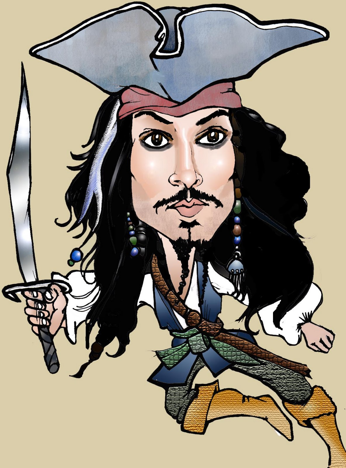 Johnny Depp.. ClipartLook.com ( as Captain Jack Sparrow)