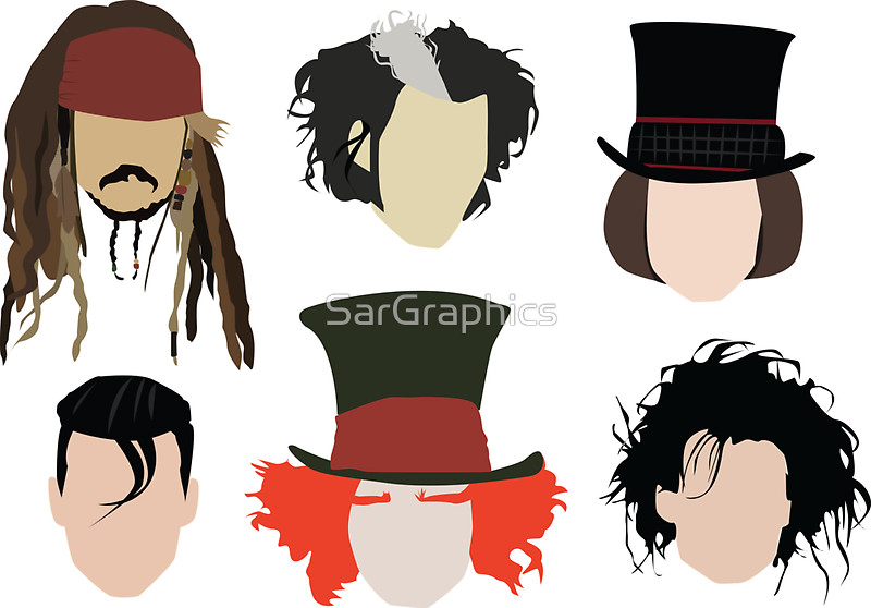 Johnny Depp - Famous Characters by SarGr-Johnny Depp - Famous Characters by SarGraphics-4