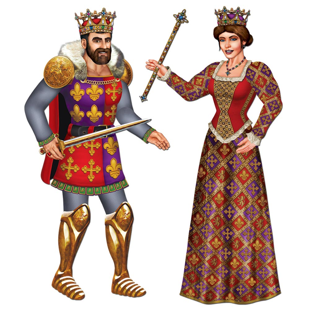 Jointed King U0026amp; Queen Cutouts-Jointed King u0026amp; Queen Cutouts-4