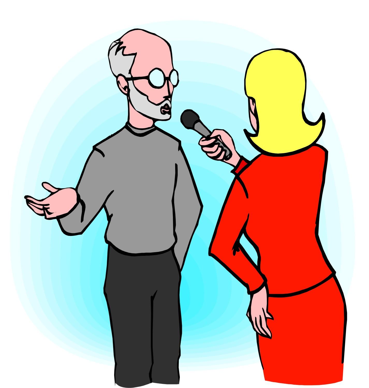 Journalist Clipart - clipartall; News Reporter Clipart ...