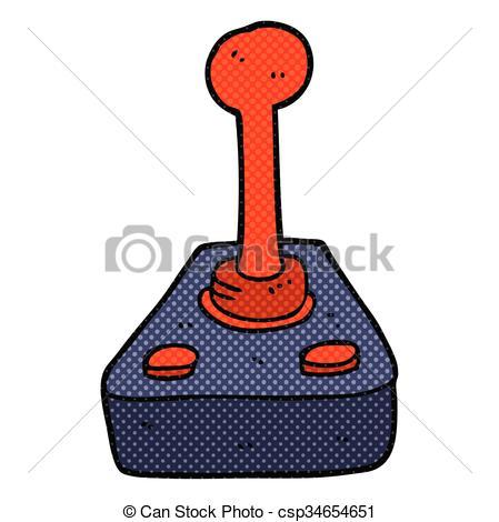 cartoon joystick - csp34654651-cartoon joystick - csp34654651-6
