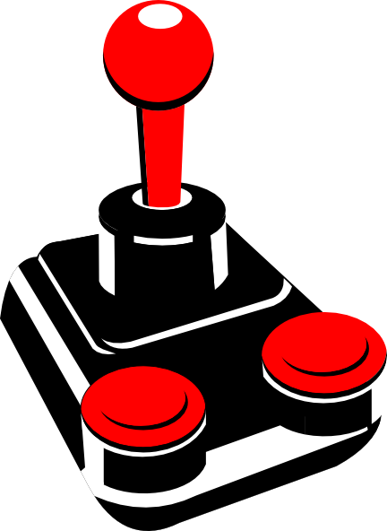 . ClipartLook.com free vector Retro Joystick clip art