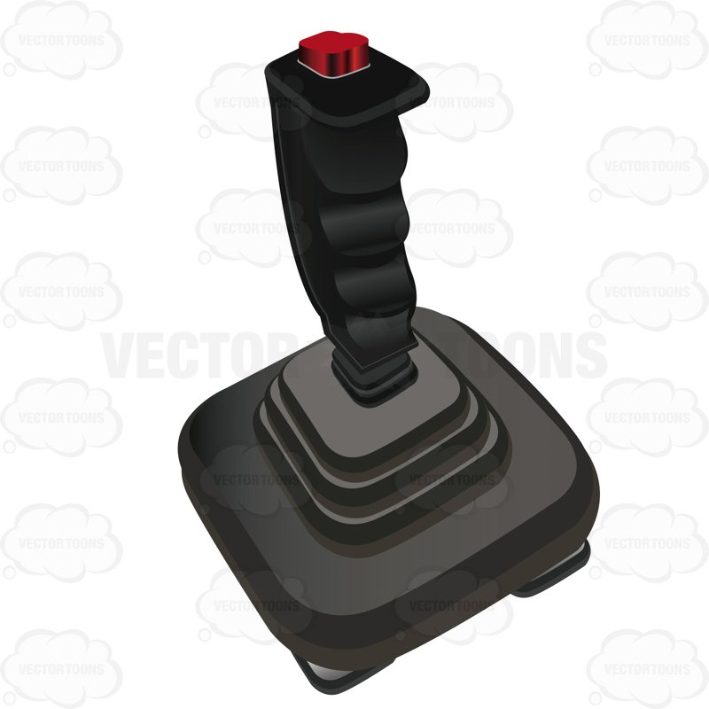 Joystick With Only A Button On Top