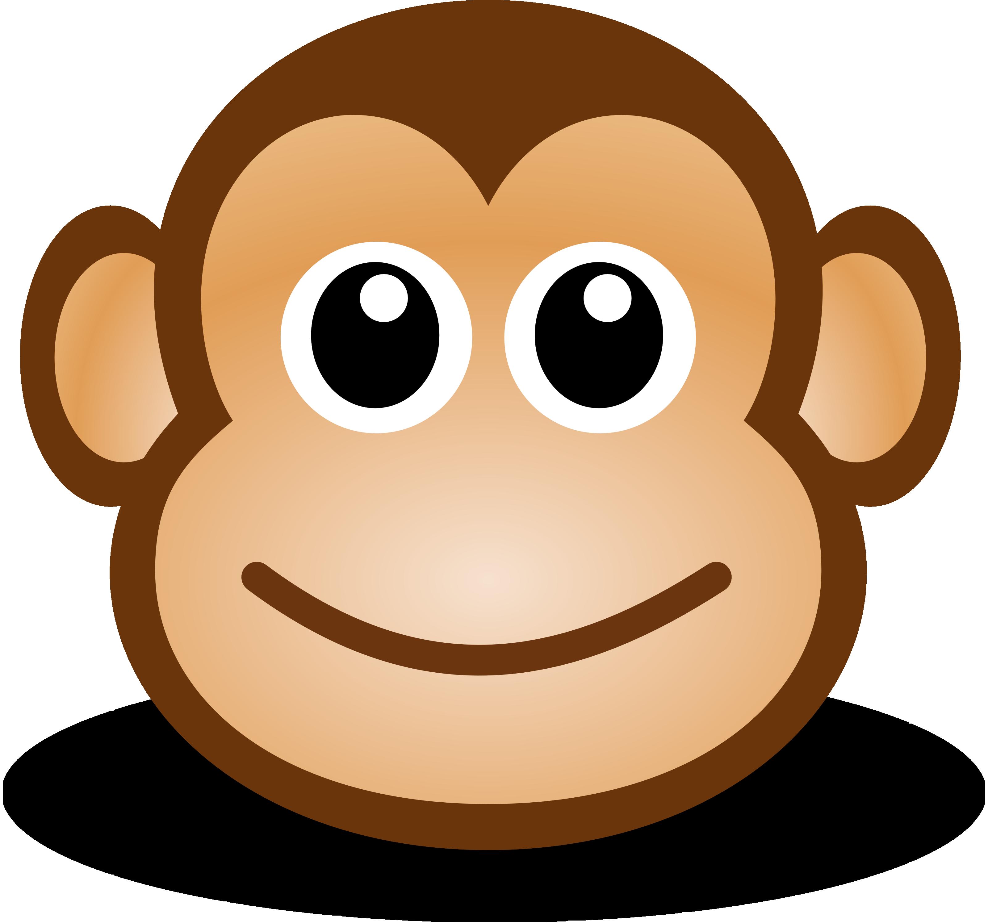 .jpg, .png, .svg,. Free Cute Cartoon Mon-.jpg, .png, .svg,. Free Cute Cartoon Monkey Clipart Illustration-14