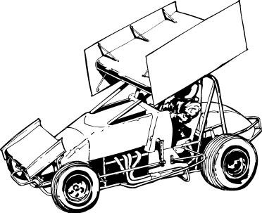 JRG Media - Sprint Car Clip .