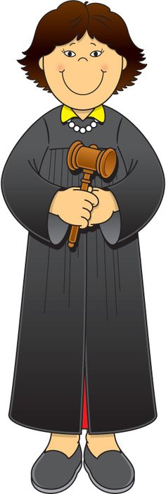 ... Judge Clip Art ...