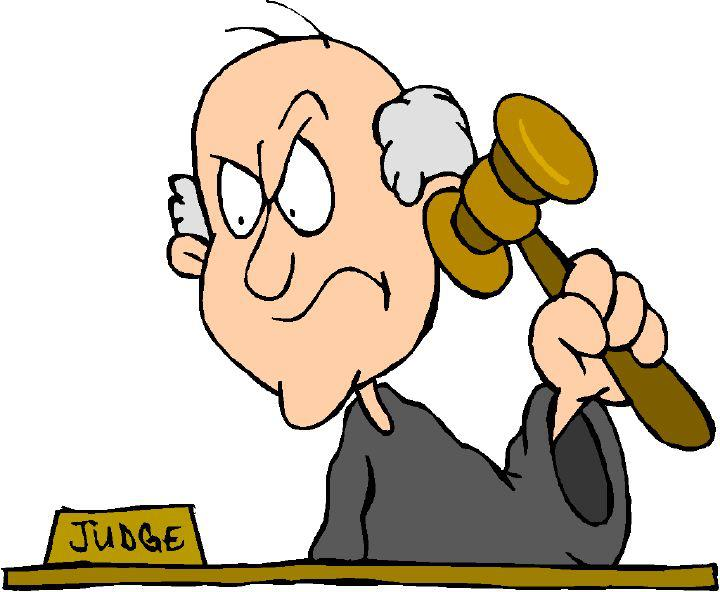 Judge Clip Art