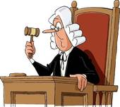 judge hammer; judge gavel; judge wig ...