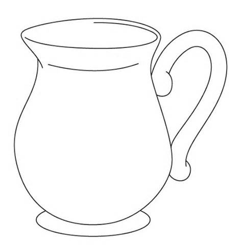 Jug Clipart Black And White-Jug Clipart Black And White-6
