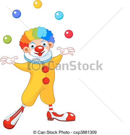 Juggling Clown - csp3881309-Juggling Clown - csp3881309-5
