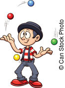 Juggling Vector clipart and illustration-Juggling Vector clipart and illustrations (3,848)-21