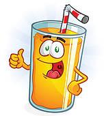 . ClipartLook.com Orange Juice Cartoon Thumbs Up