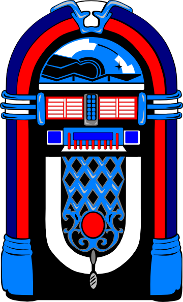 ... Jukebox Clipart ...