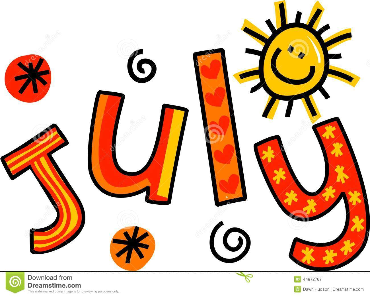 July Clip Art-July Clip Art-4