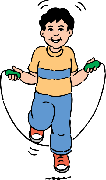 Jumping Rope Clip Art At Clker Com Vector Clip Art Online Royalty