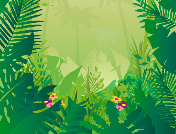 Jungle background clipart kid 5-Jungle background clipart kid 5-4