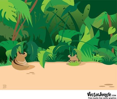 Jungle Background; Jungle Scene Background