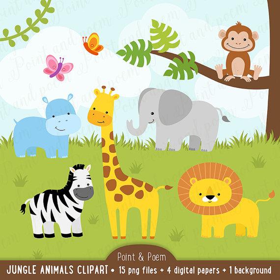 Jungle Clipart-Clipartlook.com-570