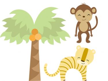 Jungle Safari Clipart .-Jungle Safari Clipart .-16