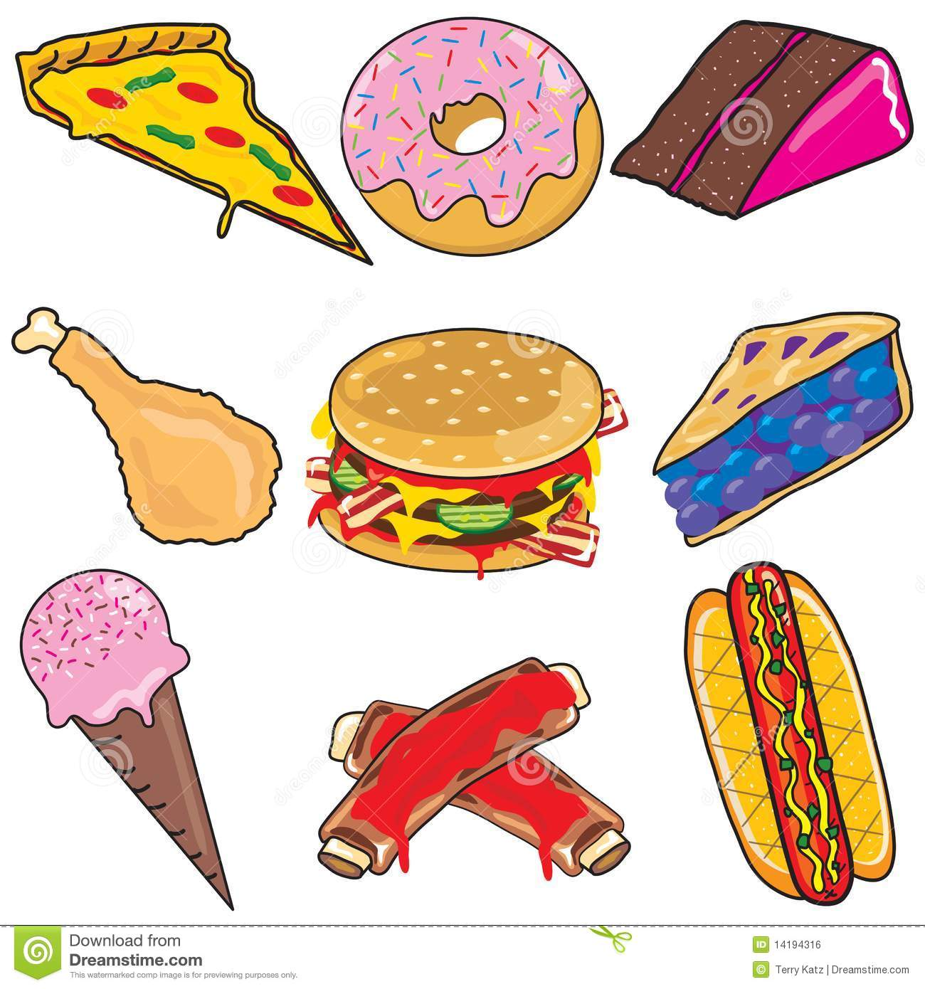 Junk Food Clipart Images-Junk Food Clipart Images-1