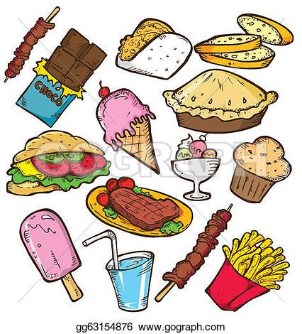 Junk Food Explosion! Junk Food Doodle-Junk Food Explosion! junk food doodle-5