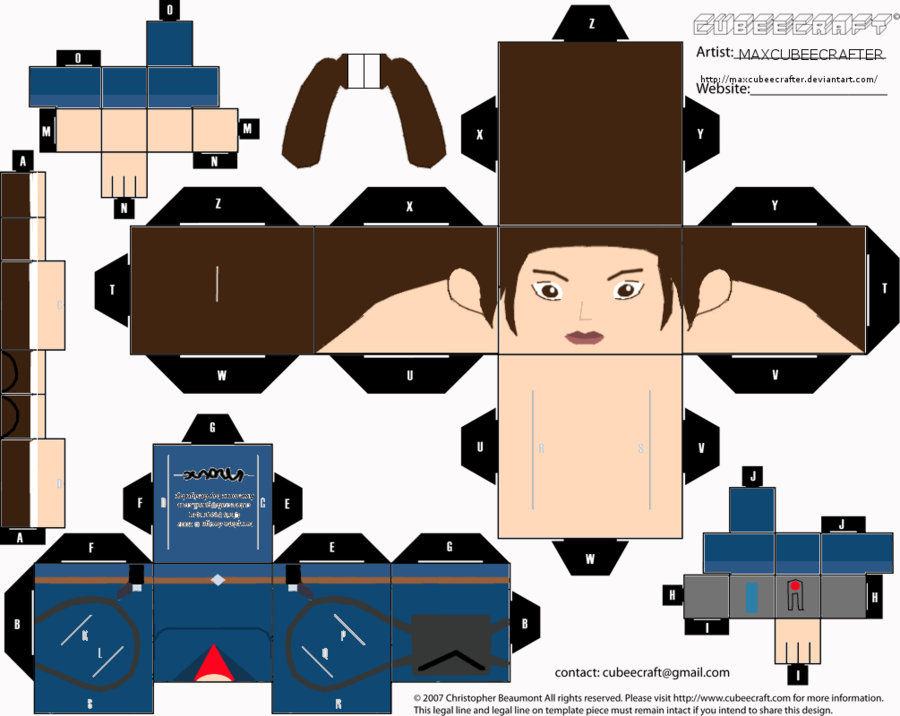 Lara Croft (Just Cause) by MA - Just Cause Clipart