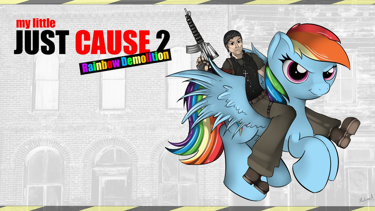My Little Just Cause 2 Rainbo - Just Cause Clipart