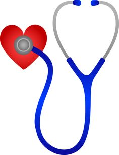 Just Hearts | Stethoscope Listening to Heart Beat - Free Clip Art.| Hearts out to all the dedicated nurses ! pinb More