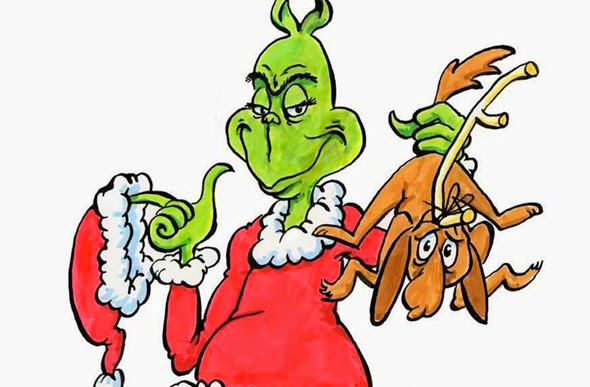 Just plain stupid the grinch clipart