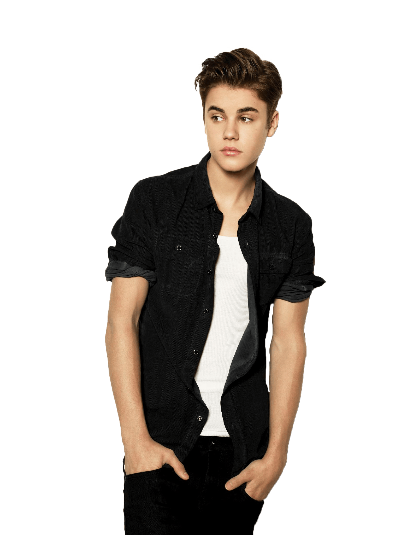 Standing Justin Bieber Transparent PNG S-Standing Justin Bieber Transparent PNG Sticker. What ClipartLook.com -19