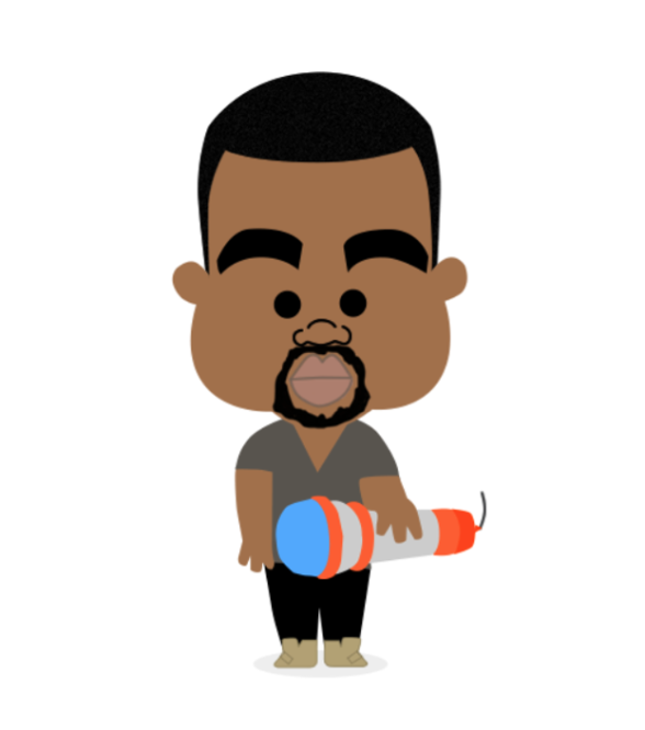 Kanye West Clipart